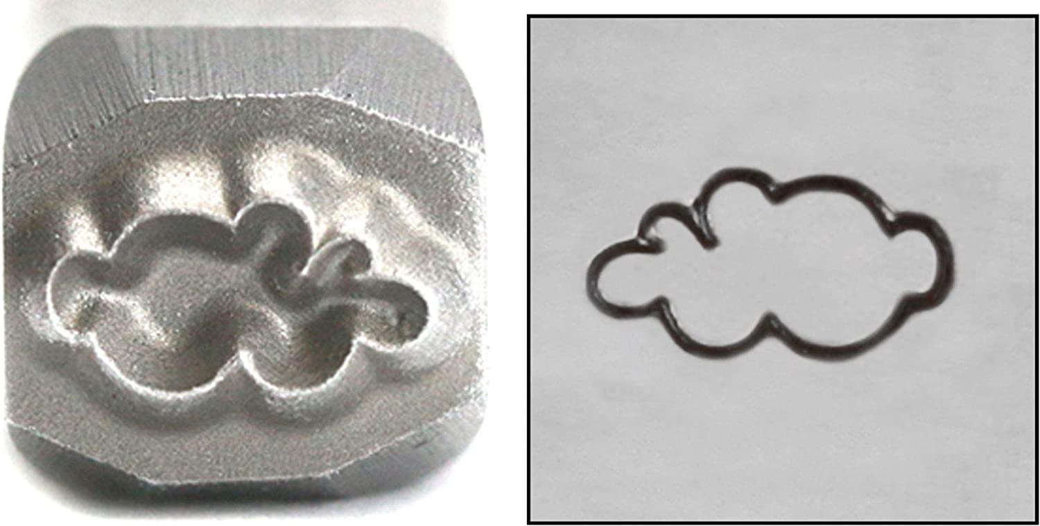Cloud Metal Design Stamp 5mm Smoke St Thought High quality new Bubble Easy-to-use Punch Puff