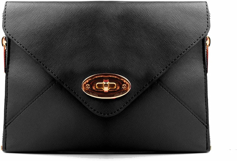 Accessoryo  blacke de sac du sac de soirée double enveloppe
