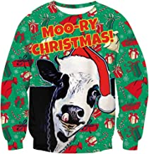 spotted cow sweatshirt