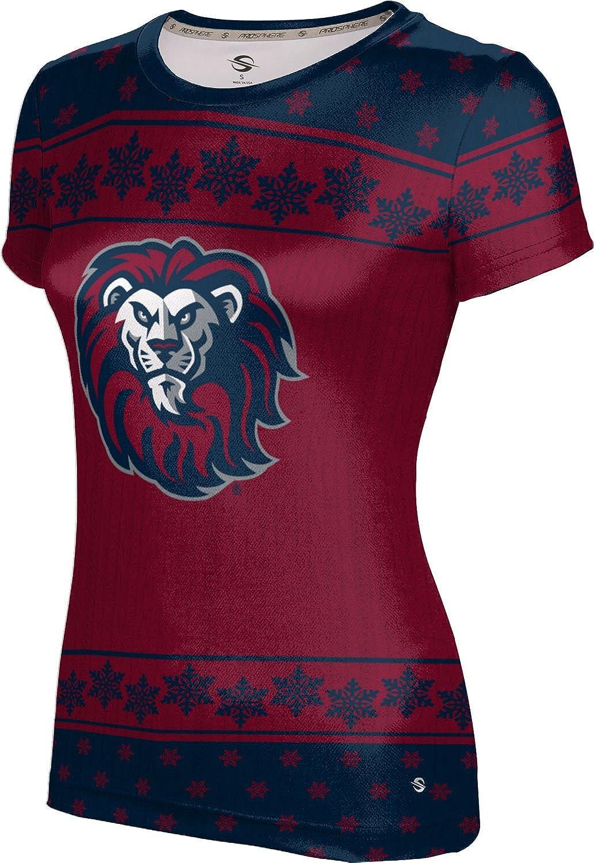 Loyola Marymount University Ugly Holiday Girls' Performance T-Shirt (Snowflake)