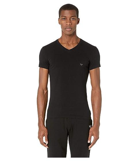 Emporio Armani Big Eagle V-Neck T-Shirt