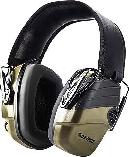 GLORYFIRE Electronic Shooting Earmuff Shooting Ear Protection Sound Amplification 6 Times Electric Earmuffs Perfect for Hu...