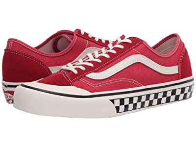 Vans Style 36 Decon SF ((Salt Wash) Red/Marshmallow) Men