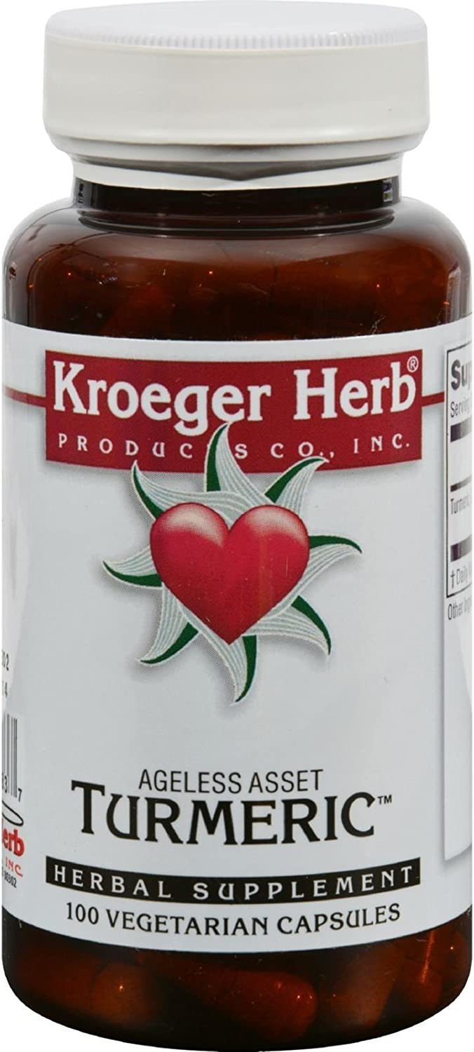 KROEGER Herb Turmeric 100 Industry No. Popular products 1 pk 2 VCAP