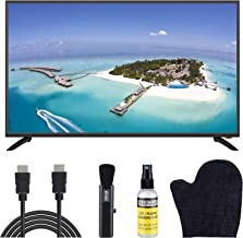 $229 » Sansui 43-Inch 1080p FHD DLED Smart TV (S43P28FN) Slim, Lightweight, Built-in HDMI, USB, High Resolution and Digital Noise Reduction Bundle with 6.5 ft HDMI Cable and LCD Screen Cleaning Kit
