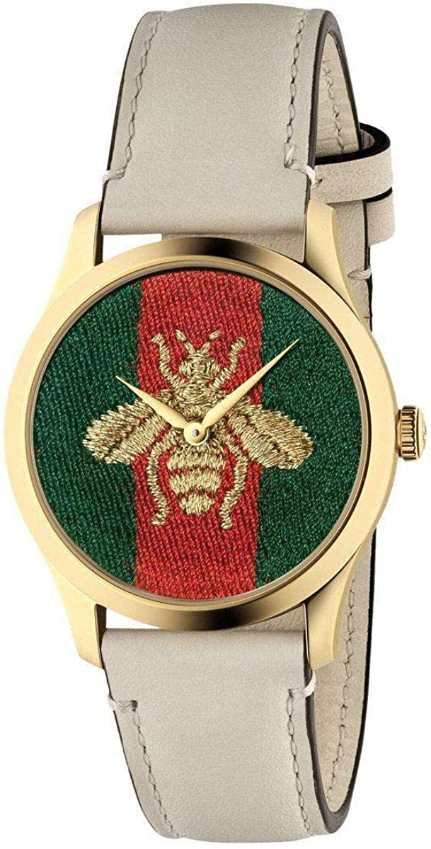 Gucci G-Timeless Contemporary Bee Watch YA1264128 Max 66% OFF Ranking TOP18
