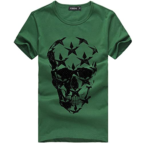 9bce528903d Skull Tee Shirts: Amazon.co.uk