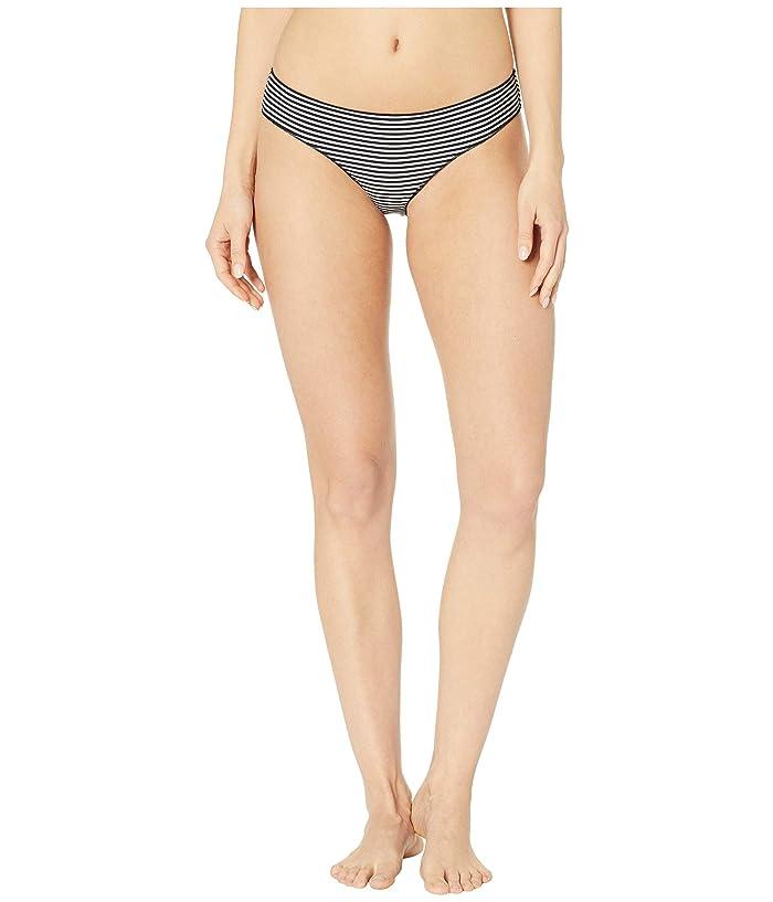 Rip Curl Classic Surf Hipster Bikini Bottom (Black/White) Women