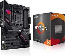 Micro Center AMD Ryzen 5 5600X Desktop Processor 6-core Up to 4.6GHz Unlocked with Wraith Stealth Cooler Bundle with ASUS ...