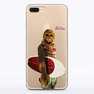 Chewbacca Surfing Cell i Phone Case iPhone 10 X XS Max XR 8 8s 8plus 7 6 6S 6plus 7plus 6splus 7plus 7s Plus 4 4S 5 5S 5C SE 5se Cases Star Wars t-shirt Fandom Hard or Silicon Protective Cover MA1308