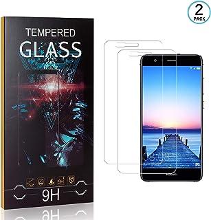 FCLTech Verre Tremp/é Honor 7X Anti-Empreintes HD Ultra Protection D/écran 9H R/ésistant aux Rayures Huawei Honor 7X Film Protection Ecran 2 Pi/èces
