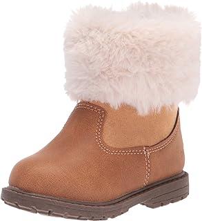 OshKosh B'Gosh Girls Empress Fashion Boot, Tan, 6 Toddler