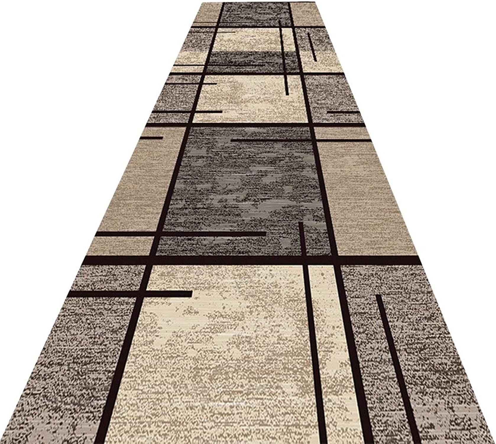 elige tu favorito HAIPENG-alfombras pasillo Extra Largo Largo Largo Corrojoor Antideslizante Entradas Estera Entrada Alfombra Contemporáneo (Color   A, Tamao   1.2x1m)  Precio por piso