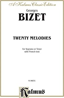 Twenty Melodies - Soprano or Tenor