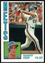1984 Topps Baseball #29 Danny Heep New York Mets Official MLB Trading Card Sharp Corners Guaranteed