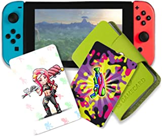 NFC Tag Game Cards for Splatoon 2 Switch - Pedestrians 16pcs Cards with Cards Holder