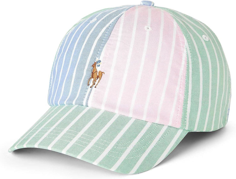 Polo Ralph Lauren Men`s Striped Oxford Cap