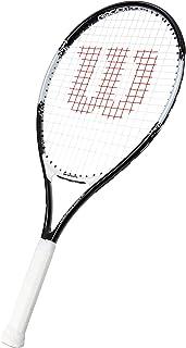 WILSON Roger Federer 26 Tennis Racket, Black/White (WR028210H), 11