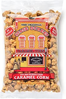 State Street Snacks Pecan Caramel Popcorn, 6 Ounce Bag (Pack of 12)