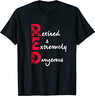 red retired extremely dangerous