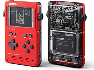 GameShell, Open Source Portable Game Console, Modular DIY Kit, Ideal for Indie Game Developers, Hackers and Retro Games Collectors (Red)