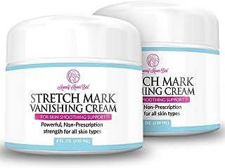 2Pack Stretch Mark Cream for Pregnancy & Scar Removal - 100% Retinol Free - Mommy Knows Best Maternity Stretch Marks Cream...
