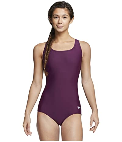 Speedo Moderate Ultraback One-Piece (Potent Purple) Women