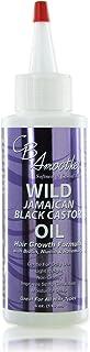 CB SMOOTHE Wild Jamaican Black Castor Oil (4 Oz) – Hair Growth Formula with Biotin, Niacin & Rosemary – Gentle For Daily U...