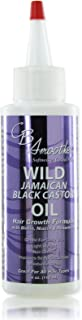 CB SMOOTHE Wild Jamaican Black Castor Oil (4 Oz) – Hair Growth Formula with Biotin, Niacin & Rosemary – Gentle For Daily Use – Light Weight - Non Greasy – Improves Scalp Circulation