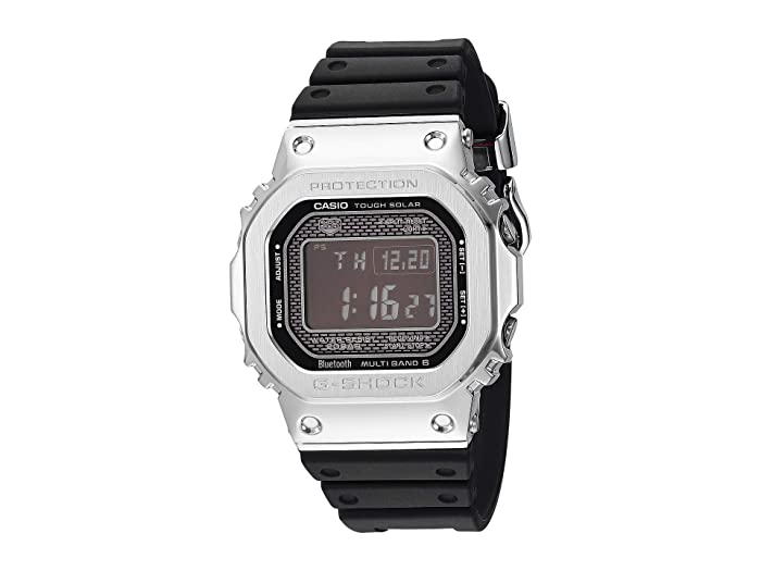 G-Shock  GMW-B5000-1CR (Black/Silver) Watches