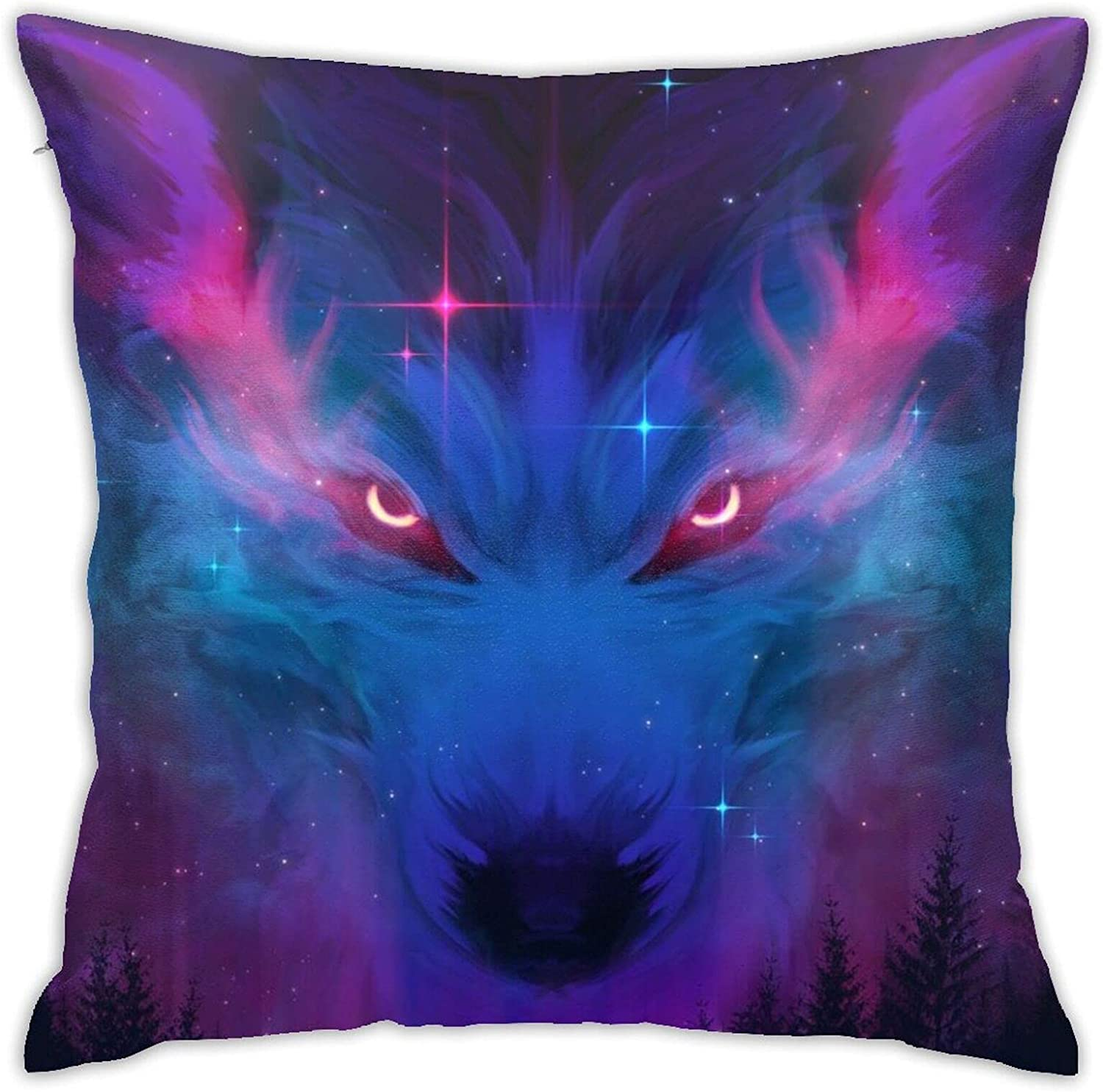 Star Cloud Wolf Factory outlet 18 X Inches Cute Design and Indefinitely Couch Pillows Bed