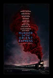 Wallspace Murder on The Orient Express - 11x17 Framed Movie Poster