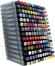 Crafter's Companion PENST14 The Ultimate Marker Storage Rack, Empty-Holds 168, 14-Pack, Light Blue