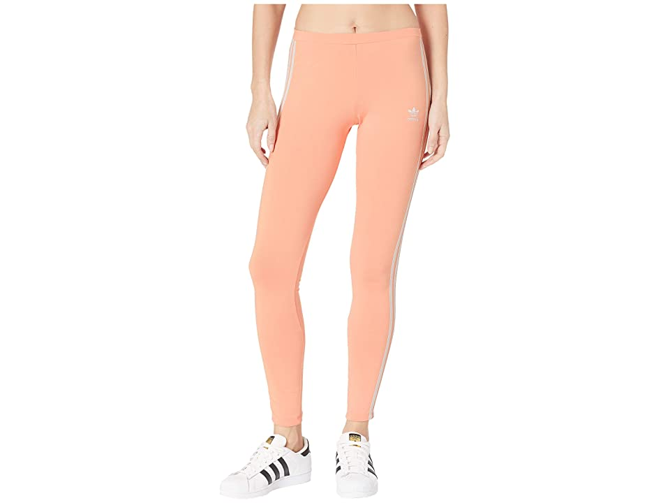 adidas Originals 3 Stripes Tights (Dust Pink) Women