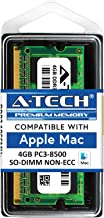 A-Tech for Apple 4GB DDR3 1067MHz / 1066MHz PC3-8500 SODIMM Late 2008, Early/Mid/Late 2009, Mid 2010 - MacBook, MacBook Pro, iMac, Mac Mini Memory RAM Upgrade Module