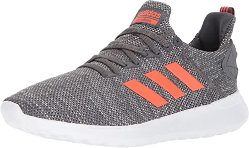 Adidas Hommes's Lite Racer BYD FonctionneHommest chaussures, gris Five Solar rouge blanc, 9 M US