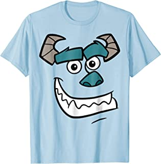 Monsters Inc. Sulley Face Halloween Graphic T-Shirt