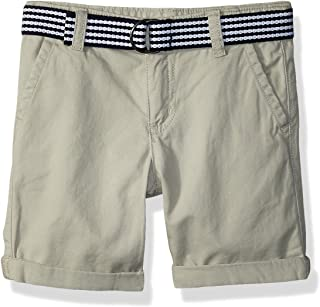 Gymboree Baby Boys Belted Twill Shorts