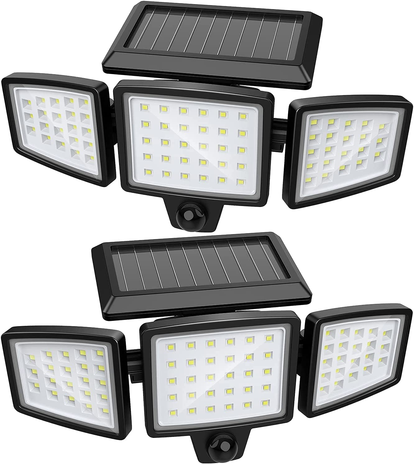 Popular products Solar Lights Outdoor Becament Super Moti 72 LED Sale item Wireless Bright