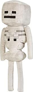 JINX Minecraft Skeleton Plush Stuffed Toy (White, 12