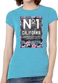 Womens No. 1 Cali Paradise Found Short-Sleeve T-Shirt