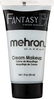 Mehron Makeup Fantasy F/X Water Based Face & Body Paint (1 oz) (Moonlight White)