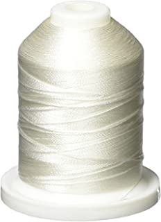 Robison-Anton Rayon Super Strength Thread, Solid Colors, 1100 Yard, Aspen White