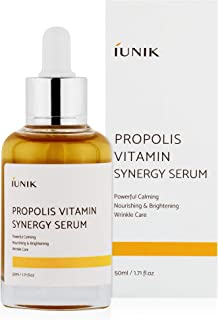 iUNIK Propolis Vitamin Synergy Serum Natural 1.71 Fl Oz - Propolis, Fruit Extract - Deep Nourishing, Deep Hydration, &