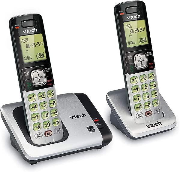 VTech CS6719 2 2 Handset Expandable Cordless Phone With Caller ID Call Waiting Handset Intercom Backlit Display Keypad