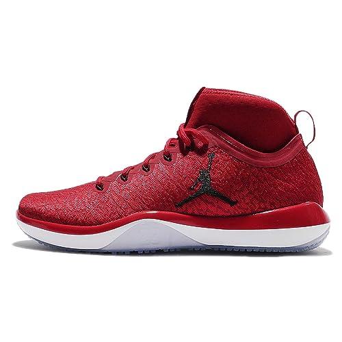 5e6b2ca53b7 Jordan 1 Red Black White  Amazon.com