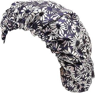 Biruil Chemo Head Scarf Sleep Hair Cover Hat WomenTurban Satin Headwrap Hair Loss Cap Night Bonnets