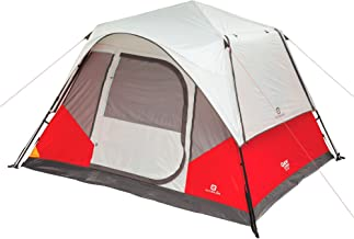 Outbound Tent | Instant Pop up Tent for Camping with Carry Bag and Rainfly | Perfect for Backpacking or The Beach | Dome & Cabin Tents, 5, 6, 8, and 10-Person (Renewed)