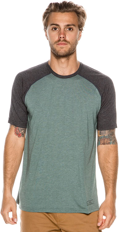 New Xcel Surf Men's Thread X Ss Surf Tee Crew Neck Short Sleeve Green
