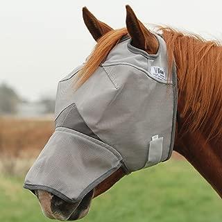 Cashel Crusader Horse Fly Mask, Long Nose